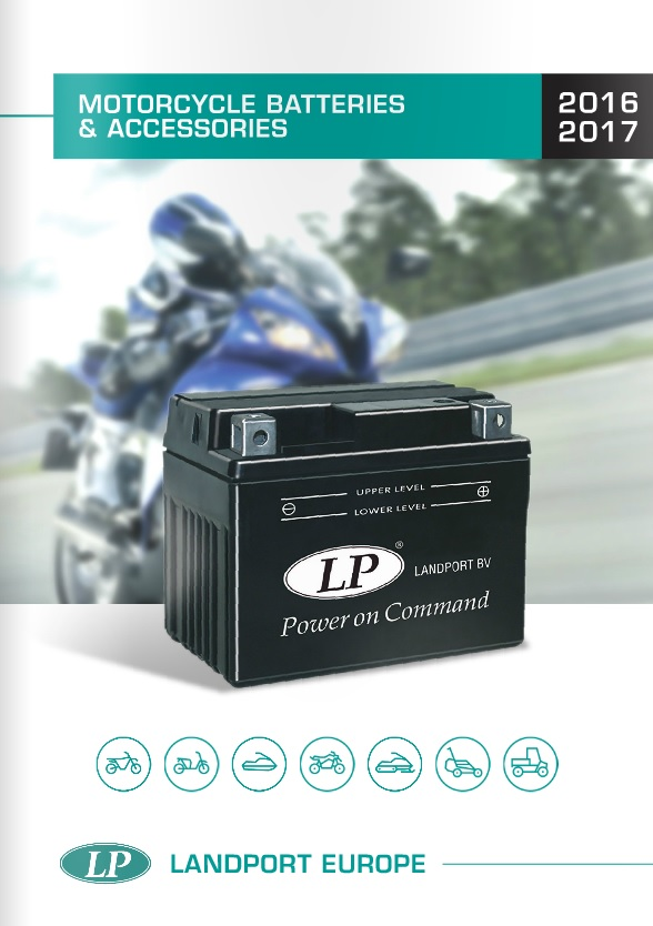 LANDPORT Motorcycle Batteries