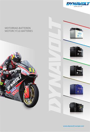 DYNAVOLT Motorcycle Batteries